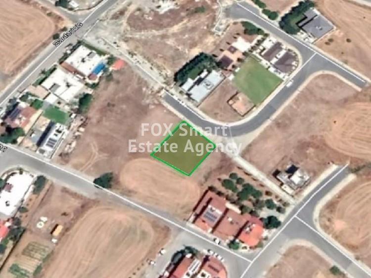 For Sale Residential Plot in Latsia, Nicosia