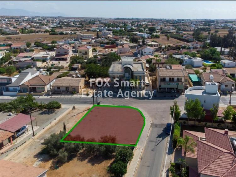 For Sale Corner Residential Land in Kokkinotrimithia, Nicosia