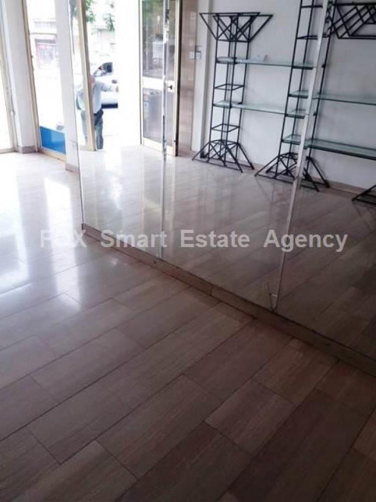 For Rent 50sq.m Ground Floor Shop plus 50sq.m mezzanine in Nicosia Centre