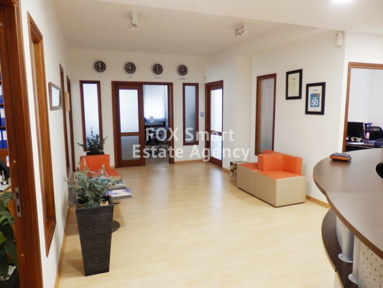 For Rent 165sq.m Whole Floor Offices in Nicosia Centre