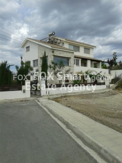 To Rent 4 Bedroom Detached House in Parekklisia, Limassol