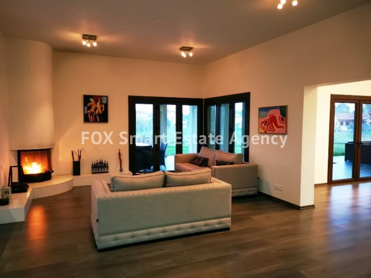 For Rent Luxury 4 Bedroom Detached House in Nisou, Nicosia