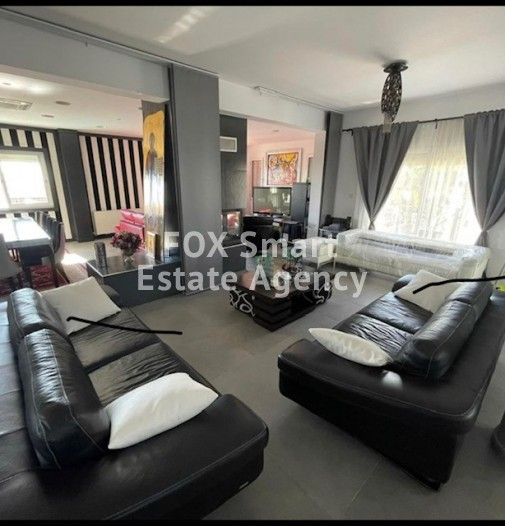 To Rent 4 Bedroom Detached House in Agia paraskevi, Germasogeia, Limassol