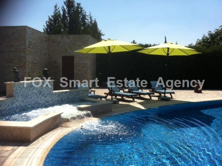 To Rent 5 Bedroom Detached House in Dali, Nicosia