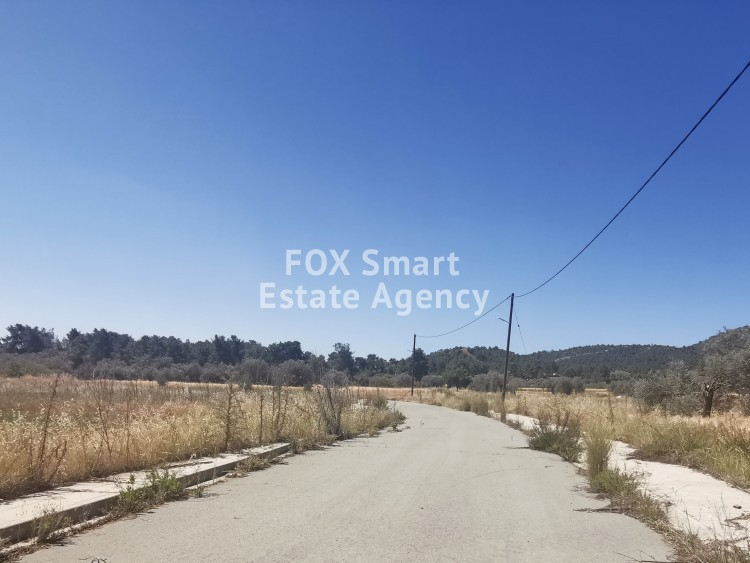 Plots available in forest area of Sia just 15 minutes from Nicosia