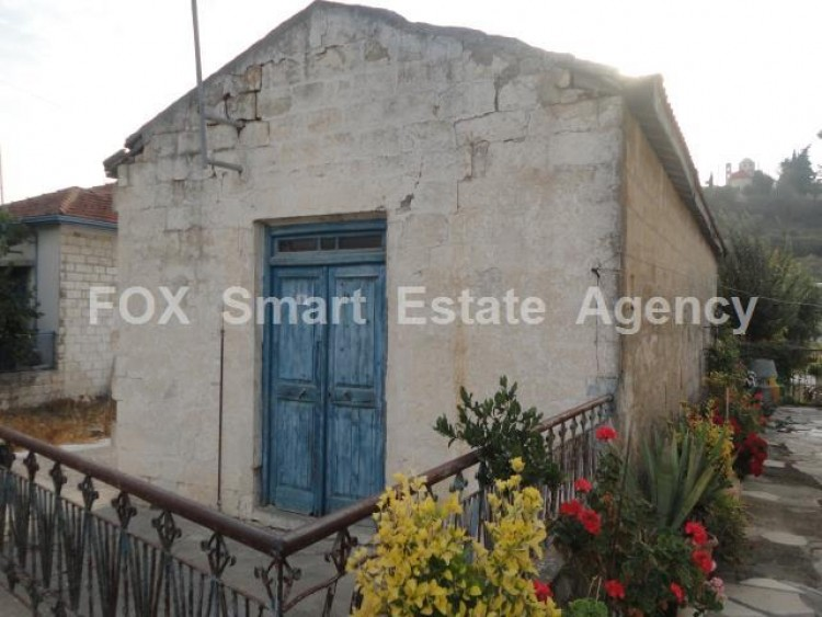 For Sale 1 Bedroom Detached House in Pachna, Limassol