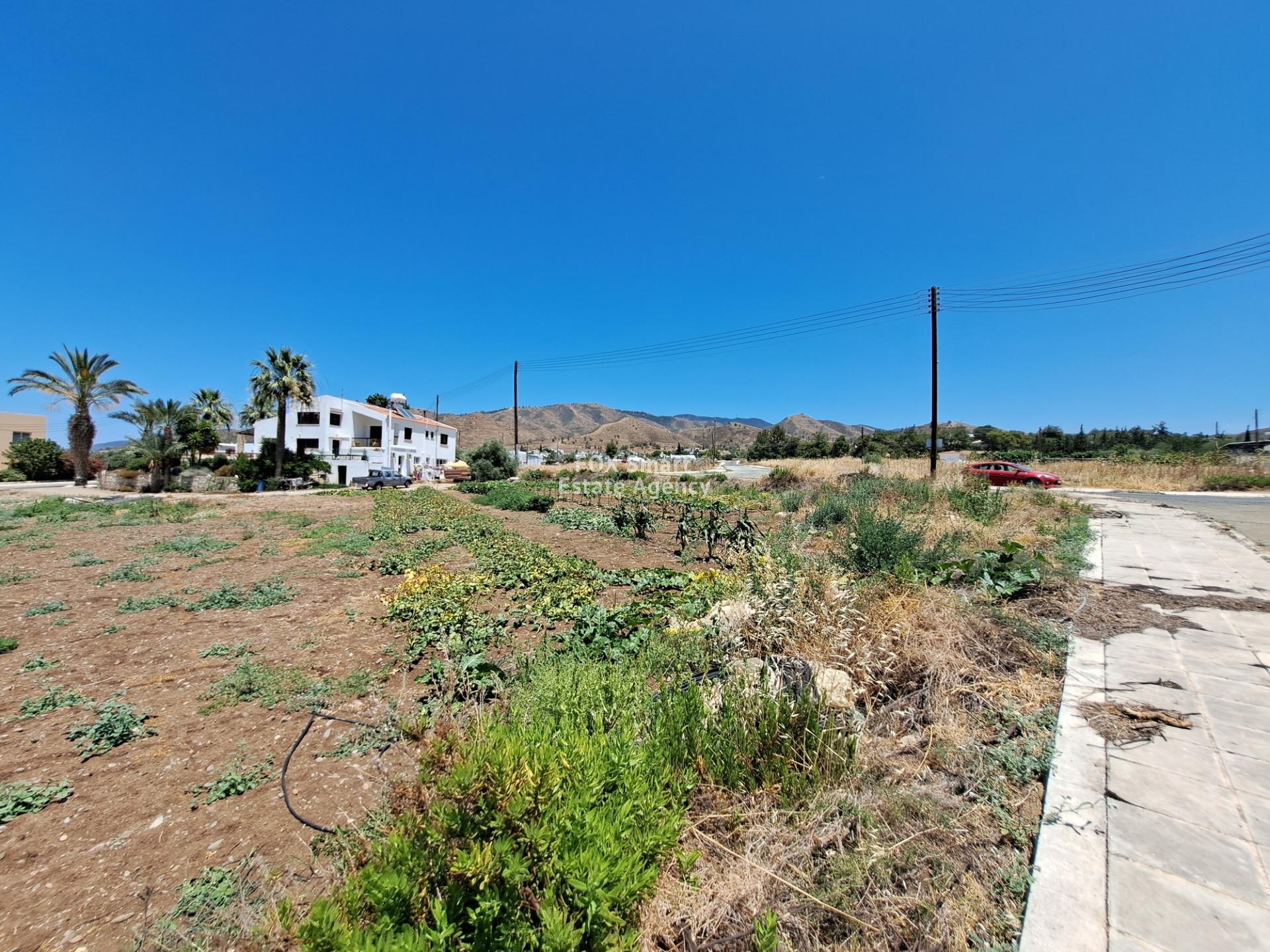 Plot in Argaka, Paphos