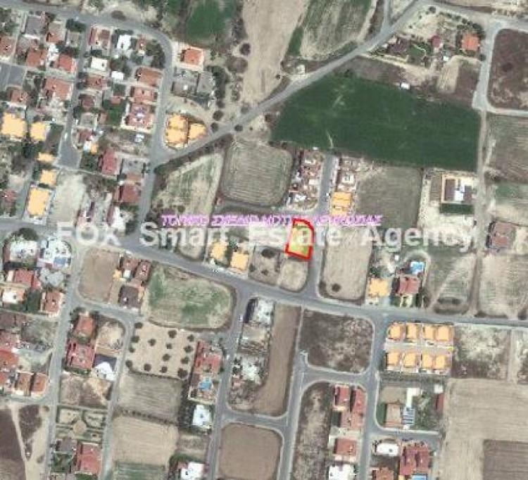 For Sale Corner Plot 507sq.m in Dali, Nicosia