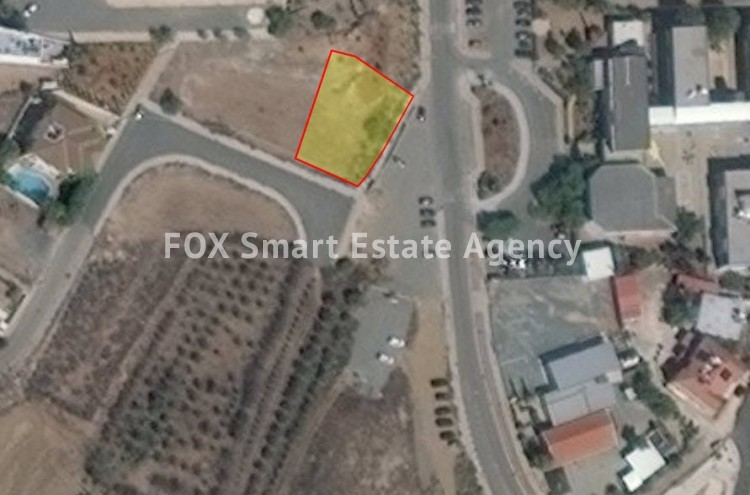 For Sale Large Plot 784sq.m in Lakatameia