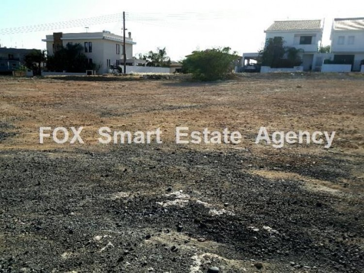 For Sale Under Separation Residential Plot 561sq.m in Geri, Nicosia