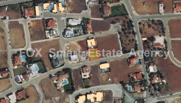 For Sale Privileged Plot 540sqm near Carolina Park in Latsia, Nicosia
