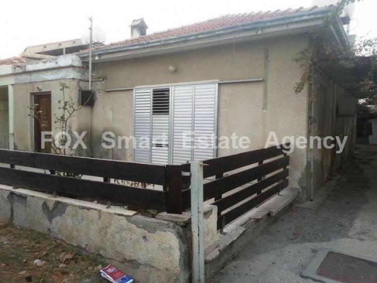 For Sale 2 Bedroom Semi-detached House in Pallouriotissa, Nicosia
