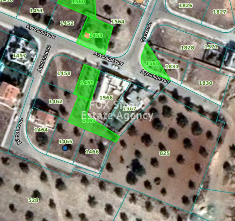 FOR SALE BIG PLOT  604SQ.M. NEXT TO GREEN AREA IN AGIOS GEORGIOS, LATSIA, NICOSIA