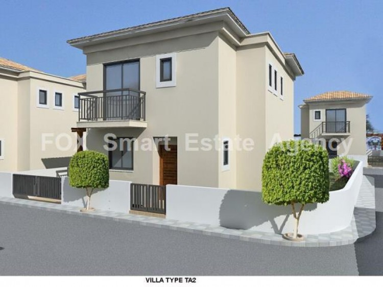 For Sale 3 Bedroom Semi-detached House in Dromolaxia, Larnaca