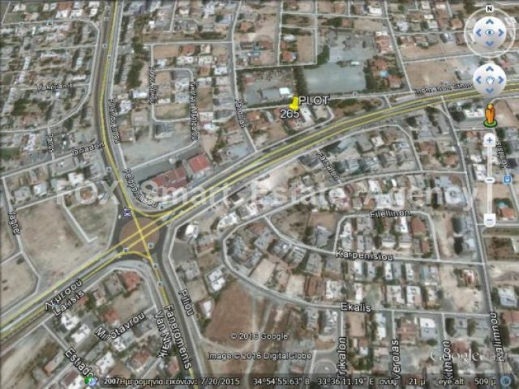 Plot in Cineplex area, Larnaca