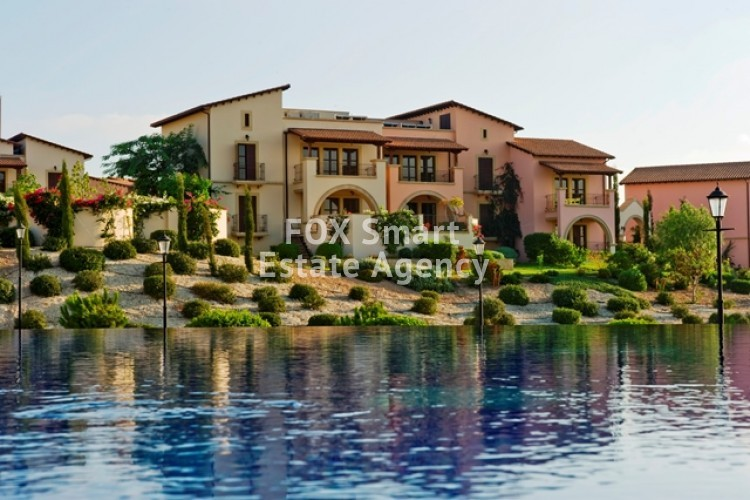 For Sale 1 Bedroom Ground floor Apartment in Aphrodite hills, Paphos