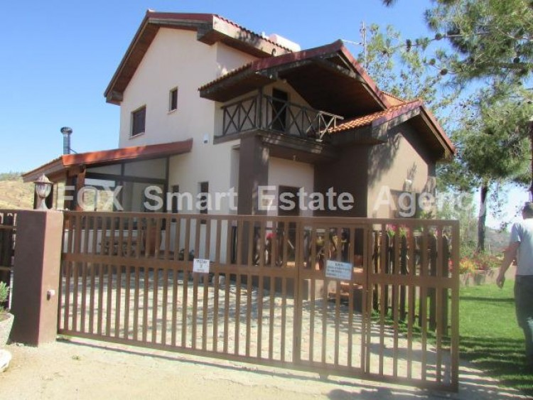For Sale 3 Bedroom Detached House in Gourri, Nicosia