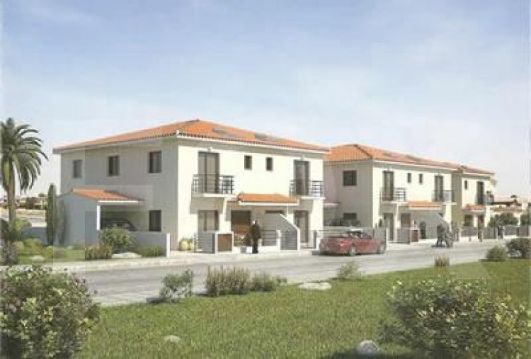 For Sale 3 Bedroom Semi-detached House in Aradippou, Larnaca