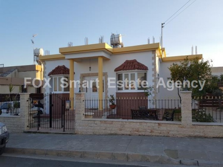 For Sale 4 Bedroom  House in Tersefanou, Larnaca