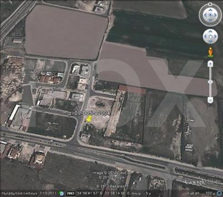 Plot in Chrysopolitissa area, Chrysopolitissa, Larnaca