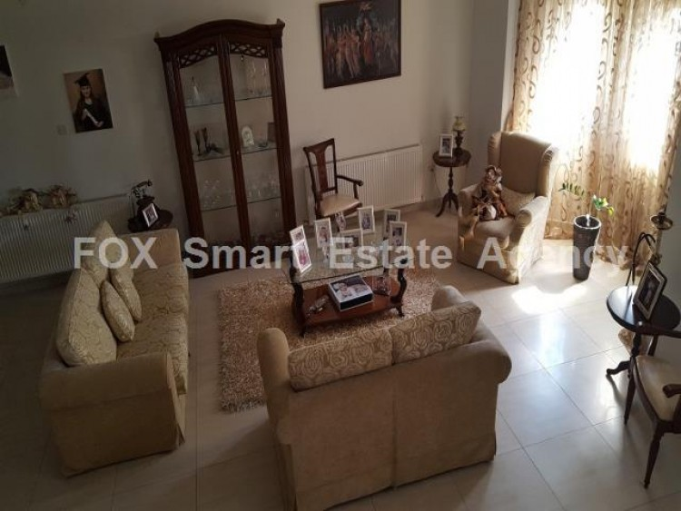 For Sale 4 Bedroom Semi-detached House in Livadia larnakas, Larnaca