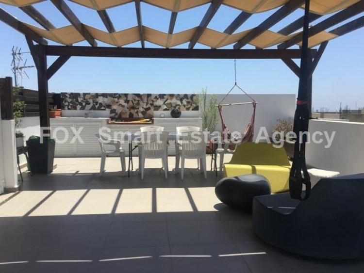 For Sale 4 Bedroom Top floor with roof garden Apartment in Potamos germasogeias, Limassol