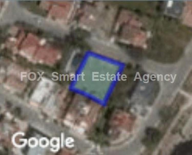 Residential Plot 572sq.m in Strovolos, Nicosia
