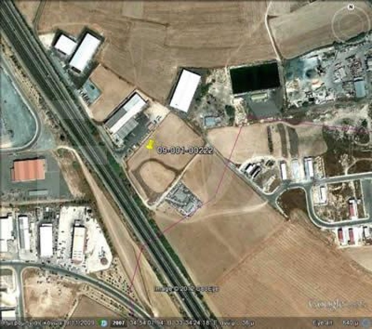 Industrial Land in Aradippou, Larnaca